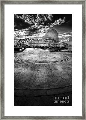 The Future Is Now Framed Print by Marvin Spates