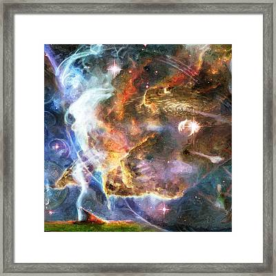 The Future Framed Print by JP Rhea