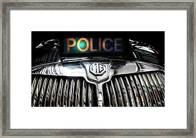 The Fuzz Framed Print by Martin Newman