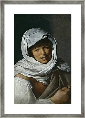 The Galician Of The Currency Framed Print by Bartolome Esteban Murillo