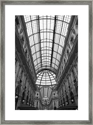 The Galleria Framed Print by Valentino Visentini