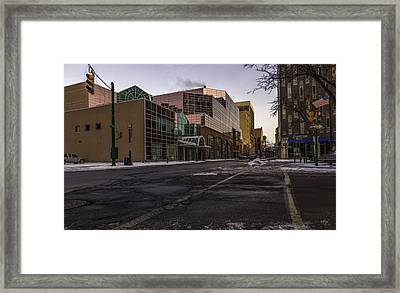 The Galleries Of Syracuse Framed Print