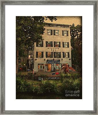 The Gallery Framed Print by Colleen Kammerer