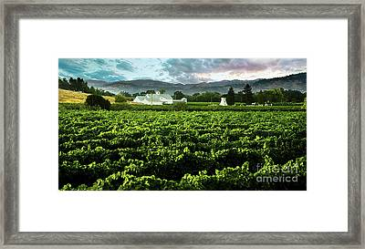 The Gamble Farm Framed Print