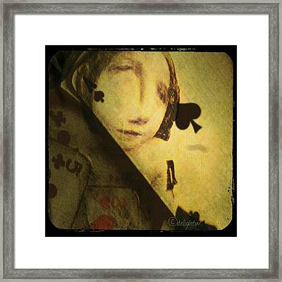 Framed Print featuring the digital art The Game by Delight Worthyn