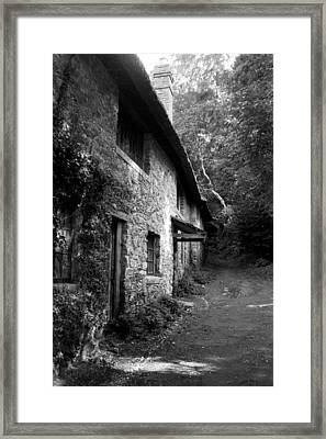 Framed Print featuring the photograph The Game Keepers Cottage by Michael Hope