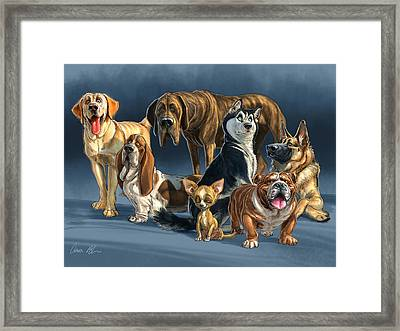 The Gang 2 Framed Print by Aaron Blaise