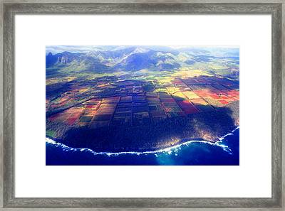 The Garden Isle Framed Print by Kevin Smith
