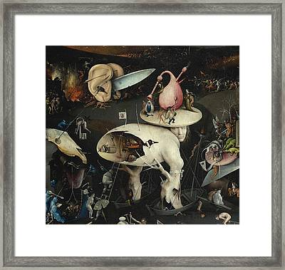 The Garden Of Earthly Delights Framed Print