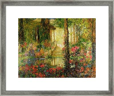 The Garden Of Enchantment Framed Print