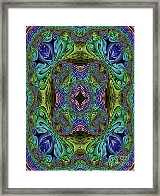 The Garden Of Infinite Possibilities Framed Print by John Edwards