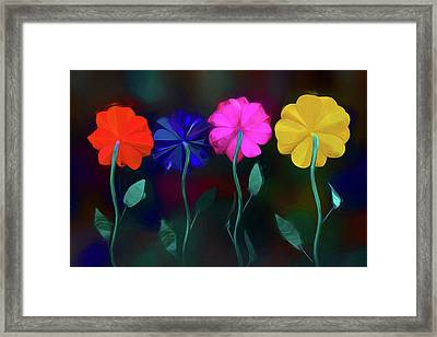 The Garden Framed Print by Paul Wear