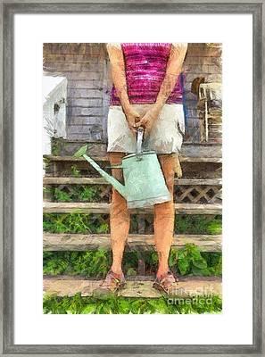 The Gardener Framed Print