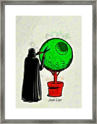 The Gardener Framed Print by Leonardo Digenio