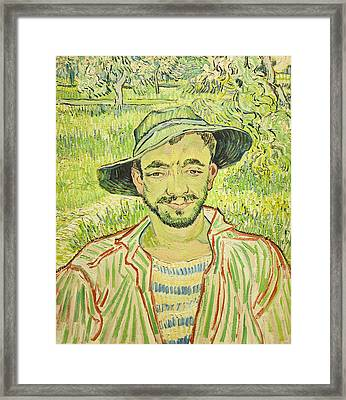The Gardener Or Young Peasant Framed Print