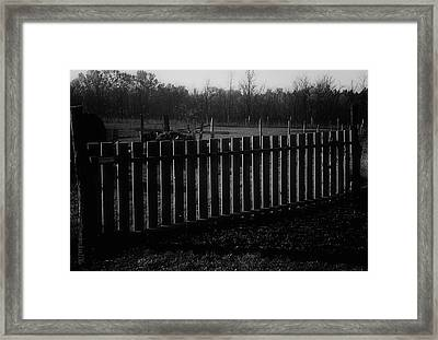 Framed Print featuring the photograph The Gardengate by Mimulux patricia no No