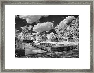 The Gardens In Ir Framed Print