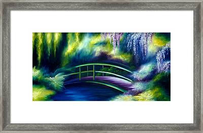 The Gardens Of Givernia Framed Print