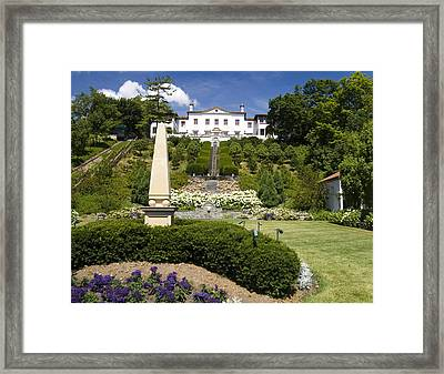 The Gardens Framed Print