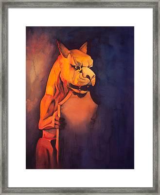 The Gardian Framed Print