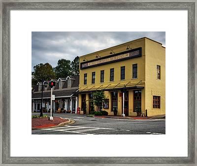 The Gartrell Building Framed Print
