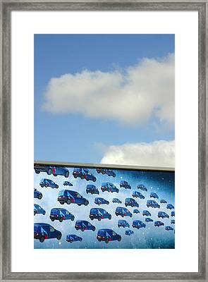 The Gas Van Cometh Framed Print by Jez C Self