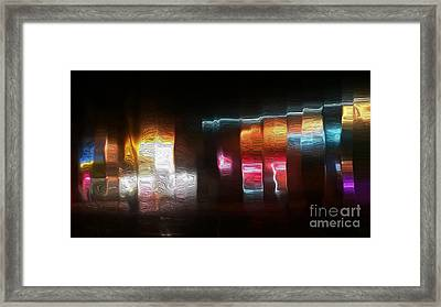 The Gaslamp Quarter Framed Print