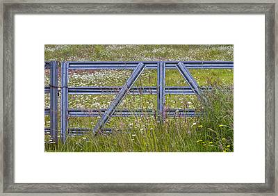 The Gate  II Framed Print by Rebecca Cozart