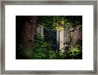 Framed Print featuring the photograph The Gate by Jeremy Lavender Photography