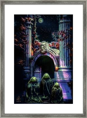The Gate Keepers Framed Print