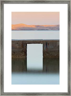 The Gate Of Freedom Framed Print