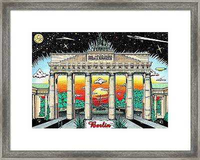 The Gate Framed Print by Oliver Betsch