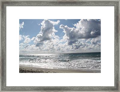 The Gate Way To Heaven Framed Print