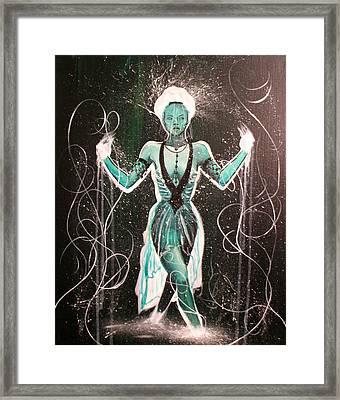 The Gatekeeper Framed Print by Ericka Bales