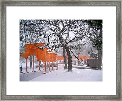 The Gates And The Polish King Framed Print