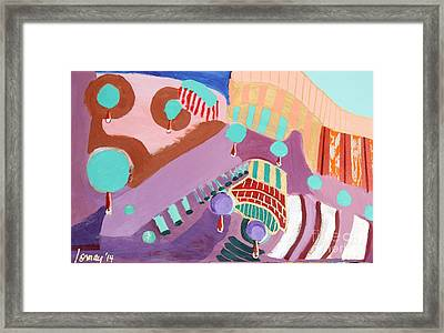 The Gates Of Hell Framed Print