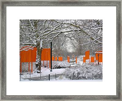 The Gates On Cherry Hill Framed Print by Cornelis Verwaal