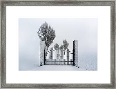 The Gates To Nowhere Framed Print