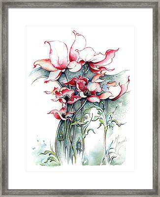 The Gateway To Imagination Framed Print