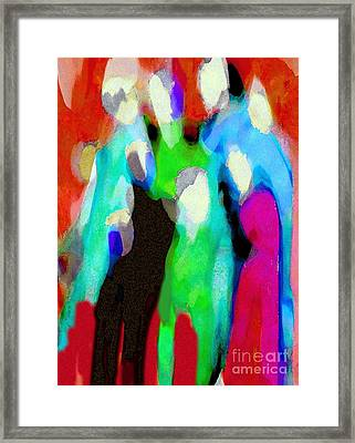 The Gathering 2 Framed Print by Mimo Krouzian