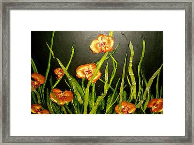 The Gathering Framed Print by Nicole Lee