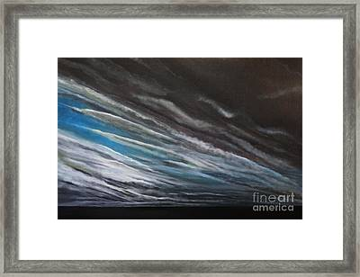 The Gathering Storm Framed Print by Paul Horton