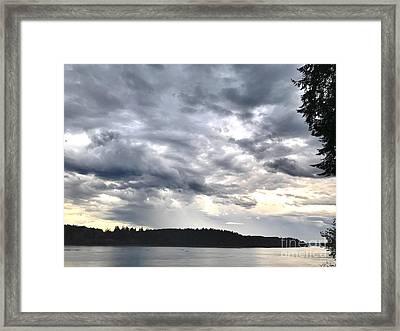 The Gathering Storm Framed Print