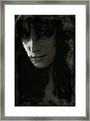 Framed Print featuring the photograph The Gaze by Jeff Gettis