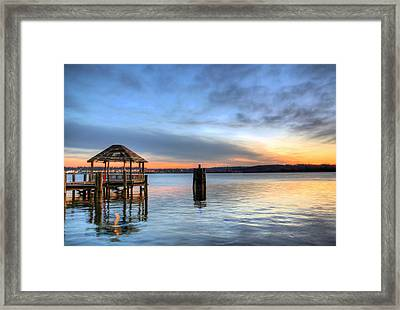 The Gazebo  Framed Print by JC Findley