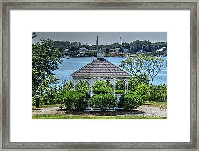 Framed Print featuring the photograph The Gazebo by Tom Prendergast