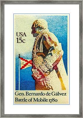 The General Bernardo De Galvez Framed Print