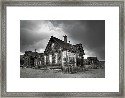 The General Store At Bodie Ghost Town Framed Print by Margaret Goodwin