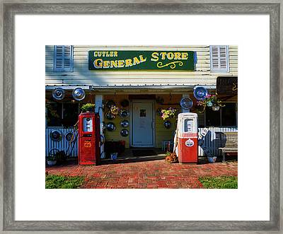 The General Store Framed Print by Mountain Dreams