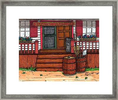 The General Store Framed Print by Ross Powell